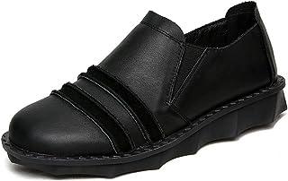 [HR株式会社] スリッポン ぺたんこ靴 レディース ローファー フラット 柔らかい 歩きやすい 春夏秋 サイズ22.0cm-25.5cm