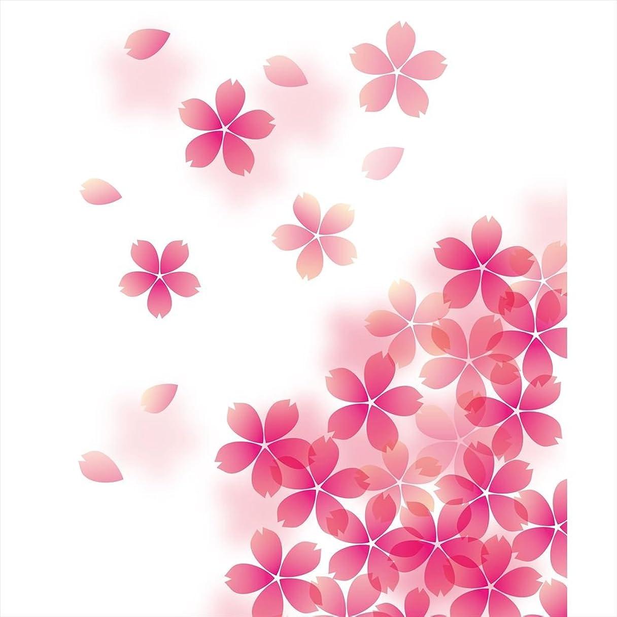 対人トラクター振るウォールステッカー 飾り 90×90cm シール式 装飾 おしゃれ 壁紙 はがせる 剥がせる カッティングシート wall sticker 雑貨 ガラス 窓 DIY プチリフォーム パーティー イベント 賃貸 フラワー 桜 さくら ピンク 000257