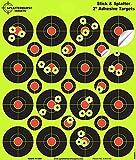 """25 Pack - (400) 2"""" """"Stick & Splatter"""" Adhesive SPLATTERBURST Shooting Targets"""