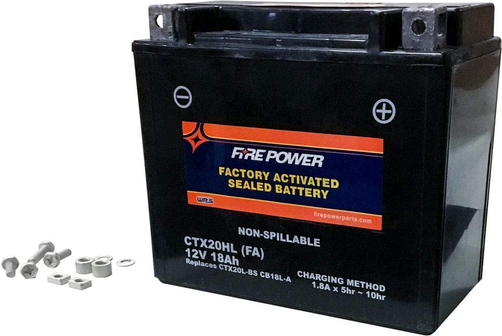 Fire Power Sealed Factory Activated CTX20HL-BS Battery Regular discount Max 71% OFF FA Compa