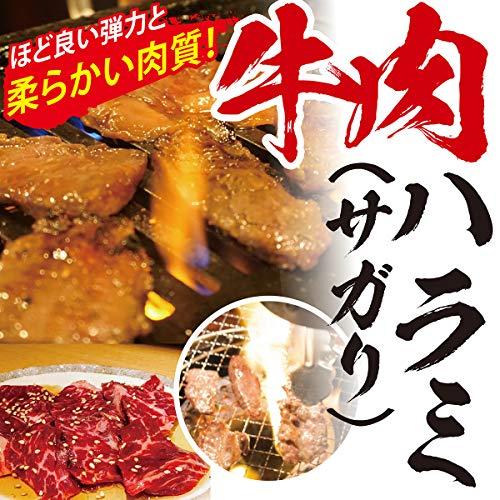お肉マイスター監修 牛肉 ハラミ 大容量( サガリ ) 焼肉 BBQ バーベキュー ※冷凍便 (3kg 500g × 6)