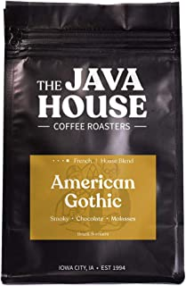 Java House Coffee Roasters, American Gothic, Whole Bean Fresh Roasted French Roast (12Oz)