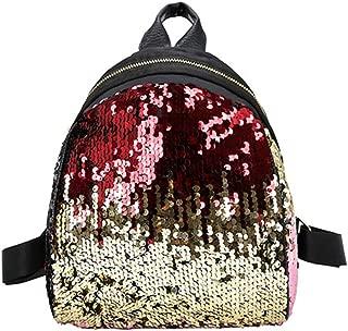 Shoulder Bag For Women And Girls With Cute Rabbit Ears Backpack Sequins Shoulder Bag Schoolbag Travel Day pack