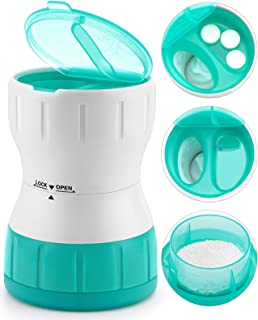 Sponsored Ad - Sukuos Pill Crusher,Pill Grinder with Pill Holder,Grind and Pulverize Multiple Pills,Tablet & Vitamin,Medic...