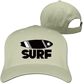 Surfboard Adjustable Baseball Hats For Man Woman