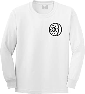 Donut with Sprinkles Foodie Treats Long Sleeve T-Shirt