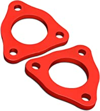 For Dodge Ram 1500 Pair of Red Front 1/2 inches Strut Top Mount Leveling Lift Kit Spacers