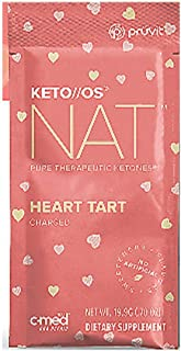 Pruvit Keto//OS NAT CHARGED, BHB Salts Ketogenic Supplement - Beta Hydroxybutyrates Exogenous Ketones for Fat Loss, Workou...