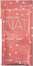 Pruvit Keto//OS NAT CHARGED, BHB Salts Ketogenic Supplement - Beta Hydroxybutyrates Exogenous Ketones for Fat Loss, Workout Energy Boost Through Fast Ketosis. 20 Sachets (Heart Tart)