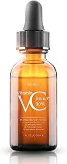 30% Vitamin C Serum for Face,Hyaluronic Acid & Vitamin E - Natural & Organic Anti Wrinkle Whitening Vitamin C Serum for Al...