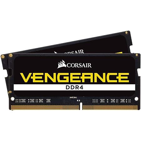 Corsair Vengeance SODIMM 8Go (1x8Go) DDR4 2400MHz CL16 Mémoire pour Ordinateurs Portables (Support des Processeurs Intel Core™ i5 et i7 de 6ème génération) Noir