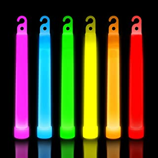 30 Ultra Bright Glow Sticks - Emergency Light Sticks for Camping Accessories, Parties, Hurricane Supplies, Earthquake, Sur...