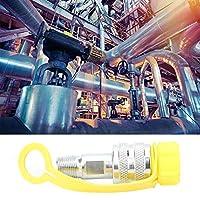 油圧クイックコネクトカプラー Zg3/8機械式オイルパイプクロームメッキスチールクイックディスコネクトカプラーカップリングセット
