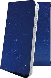 AQUOS Compact SH-02H ケース 手帳型 オーロラ 天の川 星 星柄 星空 宇宙 夜空 星型 アクオス コンパクト 手帳型ケース ハワイアン ハワイ 夏 海 SH02H AQUOSCompact 風景