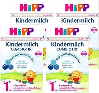 (跨境自营)(包税) Hipp喜宝 有机益生菌奶粉1+段 1岁以上 4盒装(4 * 600g)