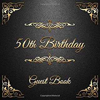 Best 50th birthday message book Reviews