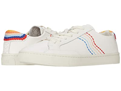 Soludos Retro-Stripe Sneaker (White) Women