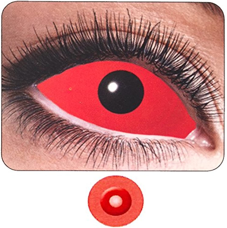 Farbige Kontaktlinsen Auge Rot Komplett PS 11261halbjhrlichen