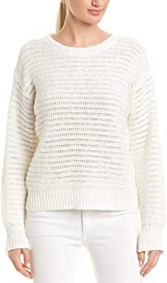 Womens Jayn Sweater, L, White