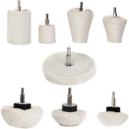 10 Pcs Diamond Grinding Head Cone Shape For Metal Surface Grinding Polishing new
