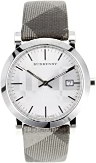 Burberry Women's BU1869 Stainless Steel Analog Silver Dial Watch