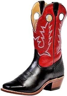 American Boots - cowboy boots: cowboy boots BO-8169-64-E (normal walking) - Men - Brown-Red / Black