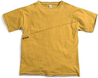 Camiseta Fluir Amarelo - Infantil