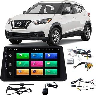 "Central Multimídia Original Nissan Kicks tela de 10"" Android 9.0 com Sistema Canbus JR8 - ZTA9638T"
