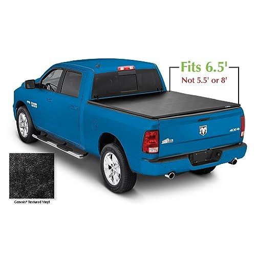 33c6f893342f3 Lund 95064 Genesis Tri-Fold Truck Bed Tonneau Cover for 2002-2018 Dodge Ram