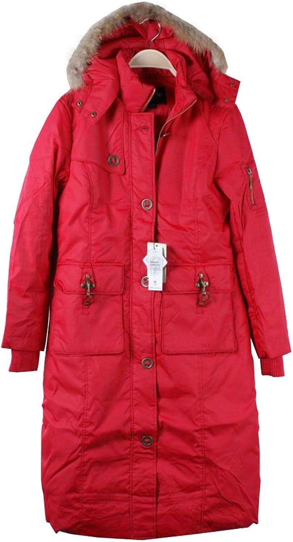 Fashciaga Women's Swallow Gird Wool Blends Trench Jacket