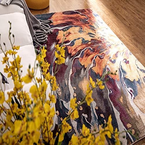Cashmere Nordic Home Einfache 180 * 280CM (1,5 cm dick) Caiyunzhinan,Campingteppich Zeltteppich Wohnwagen Wohnmobil Zeltunterlage Outdoor Camping Vorzelt Markise Zelt Teppich Markisenteppich Vorzeltb