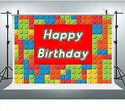 lego birthday party backdrop