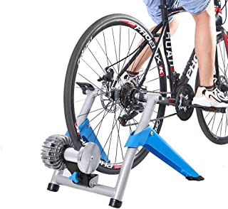Bysoru Bike Trainer Stand Non Slip Resistance Indoor Bicycle Bike Trainer Exercise Stand Training Cycling