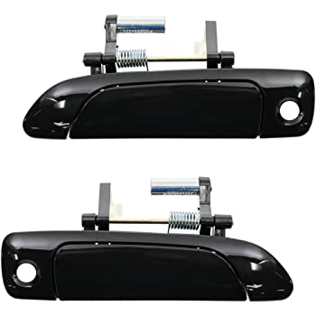 Door Handles Outside Exterior Left /& Right Pair Set for Honda Civic Del Sol