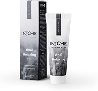 Intome Anal Relaxing Gel, Water Based Muscle Relaxant, Nourishing Lube for Sex, Erotic Skin Care for Your Ass, Relaxing the Anus, 30 ml