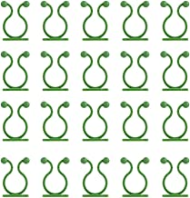 TOPBATHY 80Pcs Plant Climbing Wall Fixture Clip Invisible Vine Fixture Self- Adhesive Plant Vine Traction Hook Vines Holde...