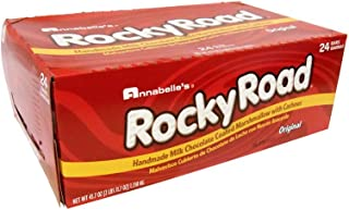 ANNABELLE CANDY ROCKY ROAD 51 G./1.82 OZ 24 BARS by Leadoff