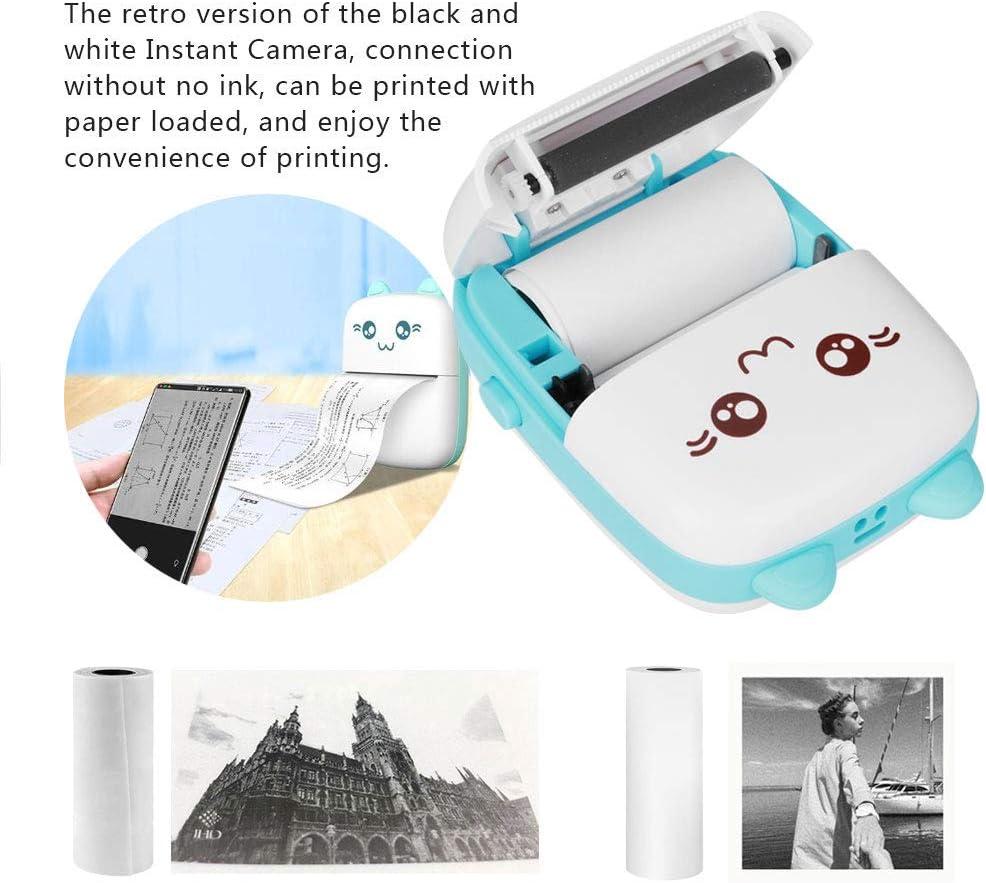 stampante termica veloce per appunti di studio Blu Mini stampante tascabile stampante fotografica mobile wireless Bluetooth 200DP