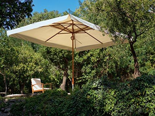 My_Garden Oasis Ombrellone da giardino 3x4 metri Ecrù