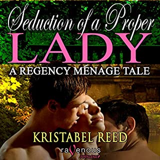 Seduction of a Proper Lady audiobook cover art