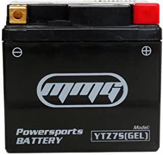 MMG YTZ7S Gel Cell 12v Sealed Powersports Battery, Replaces PTZ7S, GTZ7S, FAYTZ7S, M727ZS, CTZ7S