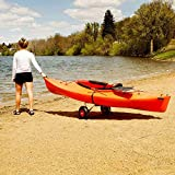 MROSW High-End Aviation Aluminum Kayak Trailers, Canoes, Paddle Boards, Floating Mats And Jon Boat Trolleys