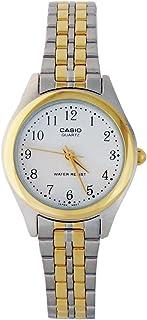 Casio Womens Quartz Watch, Analog-Digital Display and None Strap LTP-1129G7B