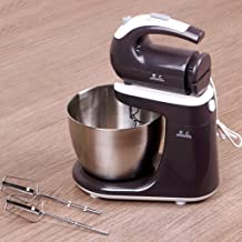 Stand Mixer,Electric Household Kitchen Standing Mixer Mini 220V/300W 3L Stainless Steel Egg Bowl 5 Speed Electric Desktop ...