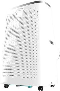 Cecotec Aire Acondicionado portátil Force Clima 14500 Cold&Warm. 14000 BTU, Bomba de Calor, 3 velocidades, 5 Modos, Pantalla LED, Temporizador 24 h, Triple Sistema de Seguridad, 1480 W