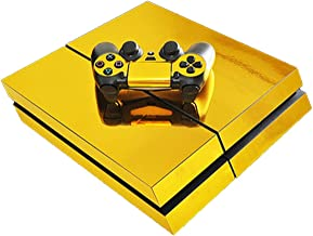 Gold Silver Blue Red Plating PS4 Skin Sticker For PlayStation 4 Console and Controller PS4 Skins Sticker Decal Vinyl,0250