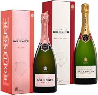 Exklusive Champagner im Geschenkset Bollinger 2x0,75l