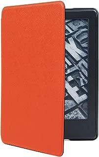 NEXARY Kindle Paperwhite 2018 第10世代 ケース カバー 軽量 スリム オートスリープ (KPW2018 オレンジ)