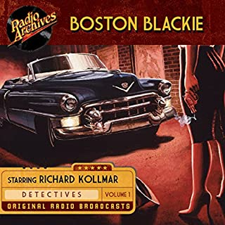 Boston Blackie, Volume 1 cover art