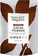 Fair Trade Certified Organic Cacao - The Best Tasting & Smoothest Cacao Powder From Premium Beans, Wildly Organic by Wilderness Family Naturals, 1 Pound